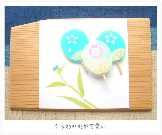 糸飾りが美しい日傘